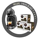 Krups Mini Me - Cafetera automática de sistema de cápsulas con 3 cajas de café, Thermoblock, Play&Select 35 variedades de bebidas, color negro