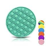 DONSFIELD Pop It Fidget Toy para Todos – Fun Push Pop Bubble Sensory Fidget Juguetes para niños con Autismo y Adultos – Diseñado para Necesidades Especiales y ansiedad – Verde