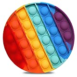 Push Pop Bubble Sensory Fidget Toy Stress Relief Special Needs Silent Classroom for Kids Adults Finger Toys Autismo Necesidades Especiales Aliviador del Antiestrés del Juguetes para Niños Una pieza