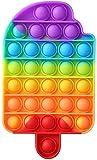 muskmelon Push Pop Bubble Sensory Toy Fidget Toys Baratos Juguete Sensorial Pop It Juguete Antiestres Silicona para Niños Adultos Relajarse Aliviar El Estrés