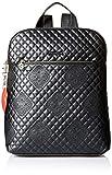 Desigual - Bols_claudia_nanaimo, Bolsos mochila Mujer, Negro, 11x35.5x28 cm (B x H T)