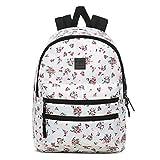 Vans SCHOOLIN IT Backpack, Mochila para Mujer, Belleza Floral Marshmallow, OS