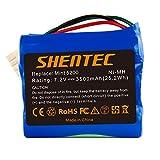 Shentec 7.2V 3500mAh Ni-MH Batería compatible para iRobot Mint 5200 Braava 380 380T 390 390T Mint 5200 5200B 5200C Robots de limpieza