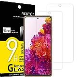 NEW'C 2 Protectores de Pantalla de Cristal para Samsung Galaxy S20 FE / S20 FE 5G, antiarañazos, antihuellas, sin Burbujas, dureza 9H, 0,33 mm, Ultra Transparente, Vidrio Templado Ultra Resistente