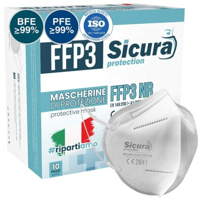 Mascarillas ffp3 homologadas